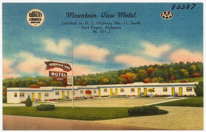Post cards--Mountain View AL original