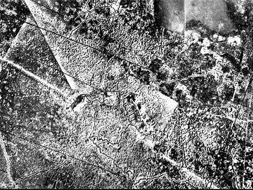 Crater hooge aerial