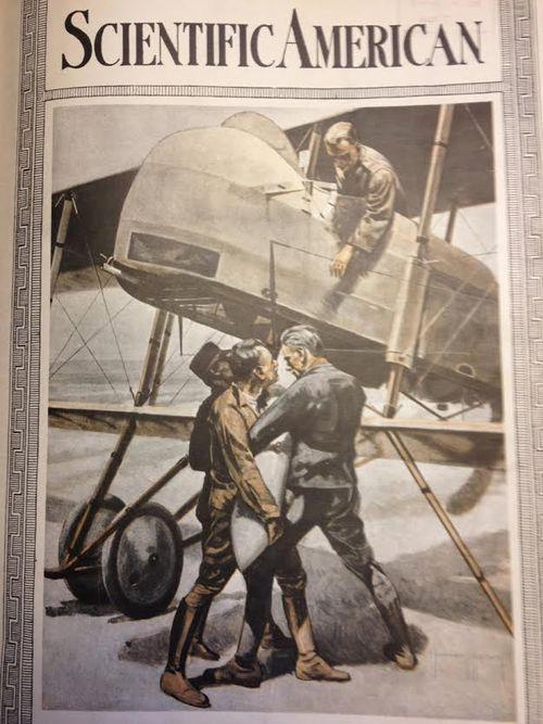 WWI Airwar 1918 bomb load