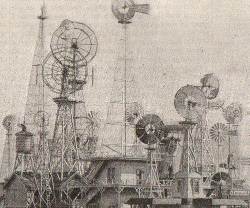 Windmill detail