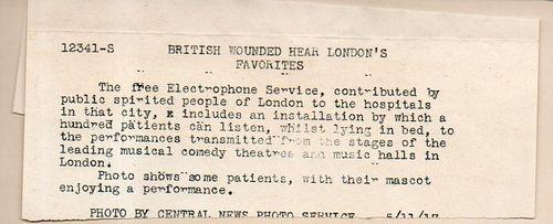 WWI Electrophone266
