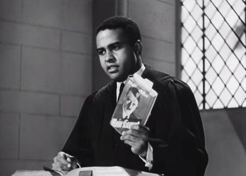 Negro soldier preacher