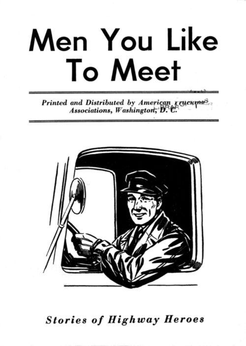 Poster--Men you like to meet b+w362