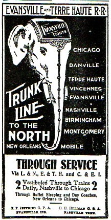 Map--trunk line367