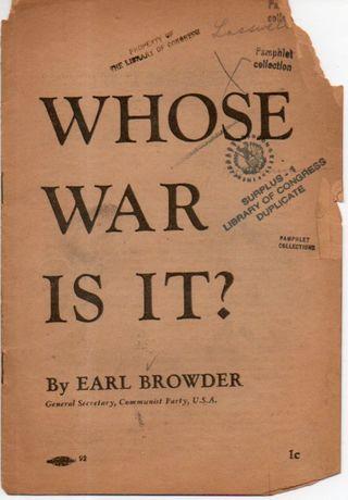 Commie pamphlet decomposition475
