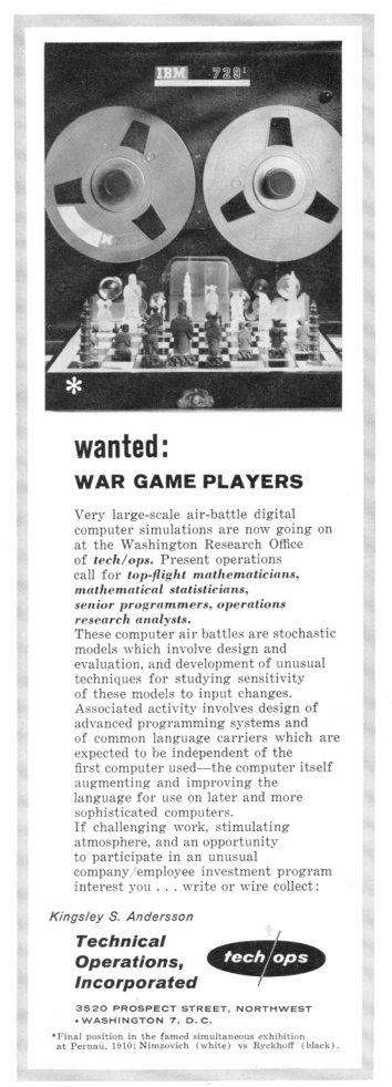War gaming495