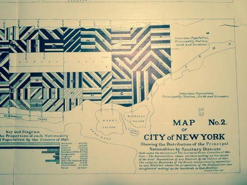 Nationalities map