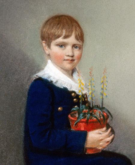 Scientist childhood pics darwin