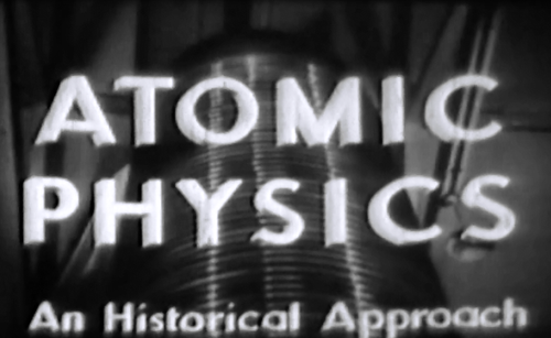 Archives Atomic Physics film