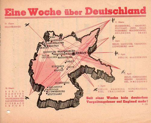 Bombing Germany 1945