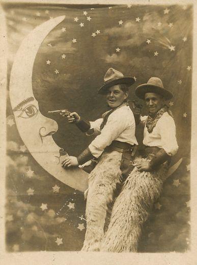 Moon cowboys