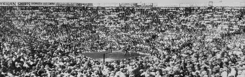 Panorama boxing vernon arena detail A