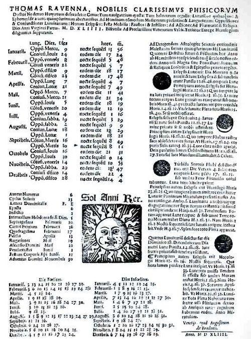 Calendar renaissance