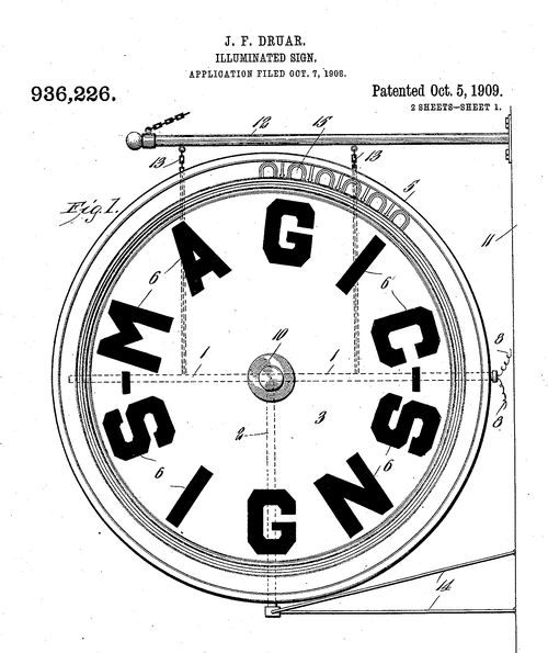 DADA FOUND PATENT SIGNS