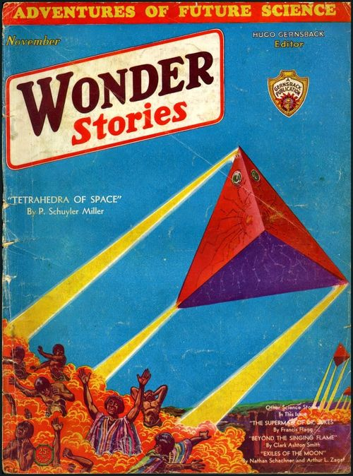 Wonder stories cubic triangles