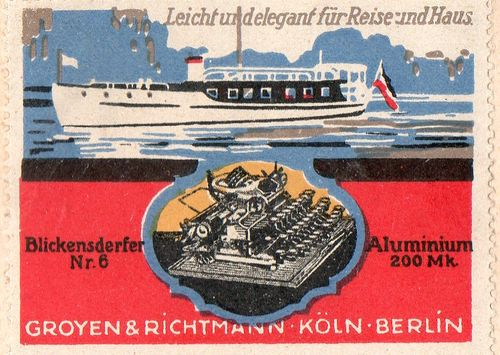 Typewrriter ad Groyen923