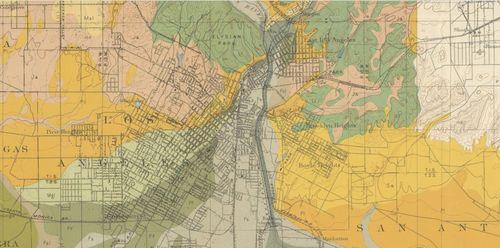 LA SOil Map  1903