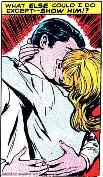 Kissing--what else could I do