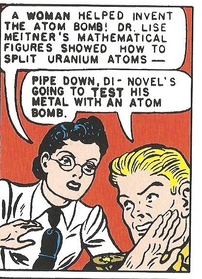 Scientists in comics meitner
