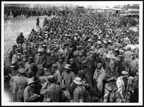 WWI--Photos--German prisoners NLS full image