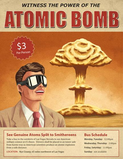 Atomic bomb tourism