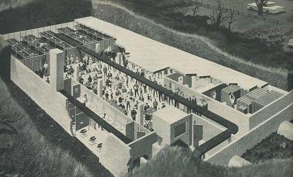 Atomic shelter LIFE community