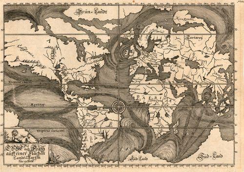 Map ocean Heppel 1675
