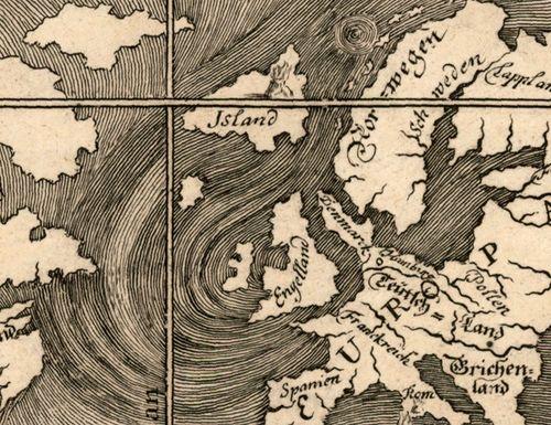 Map ocean Happel 1675 b