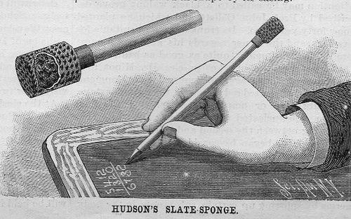 Scientific american slate pen sponge102