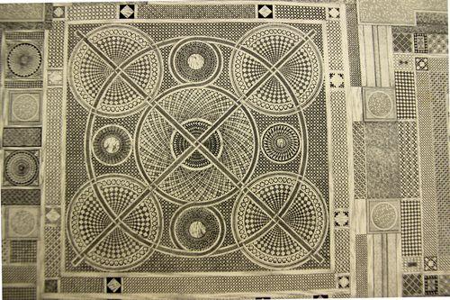 Ongania Mosaic detail