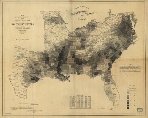 Map--slavery 1860 full