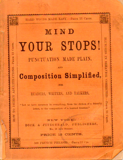 Mind your stops!191