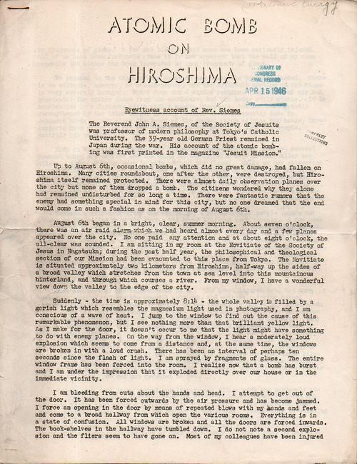 Atomic bomb on hiroshima211