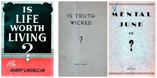 Question mark trio