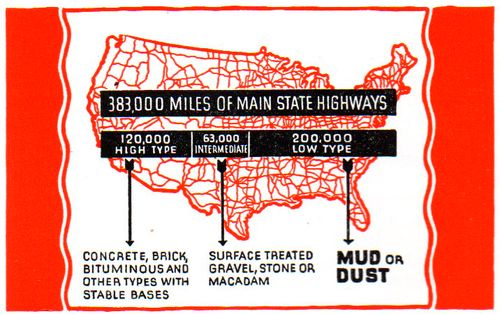 Map of dusty roads040