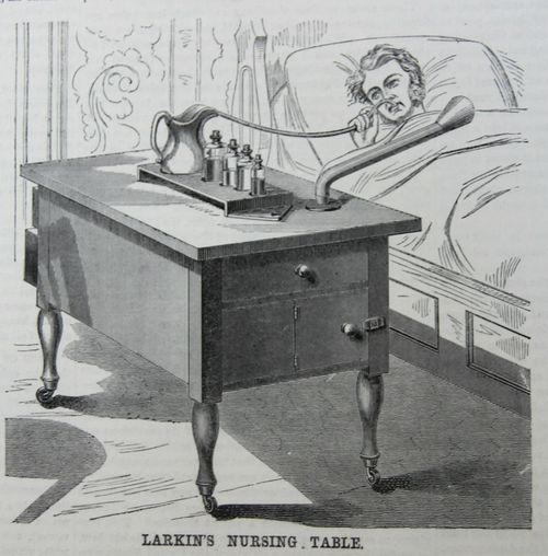 Nursing Table 1869