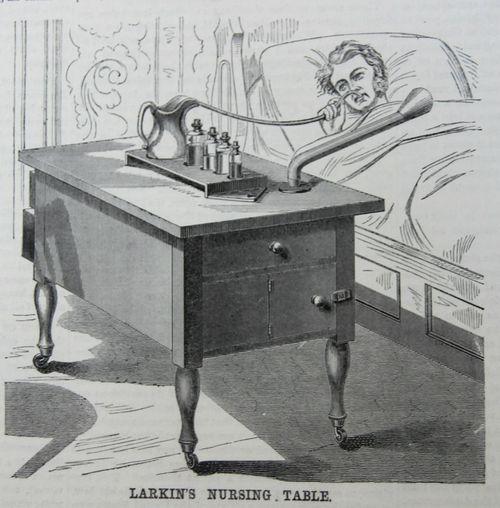 Nursing Table 1869