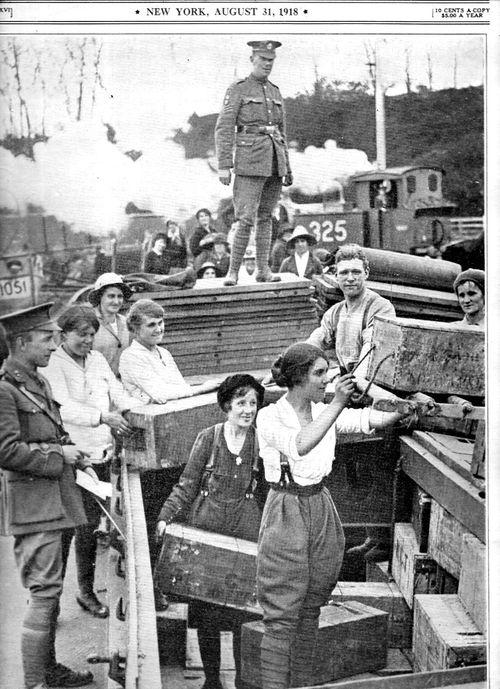 WWI Project women working England 1918187