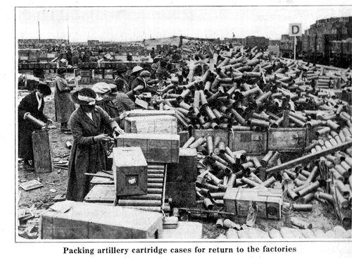 WWI Project women working England 1918191