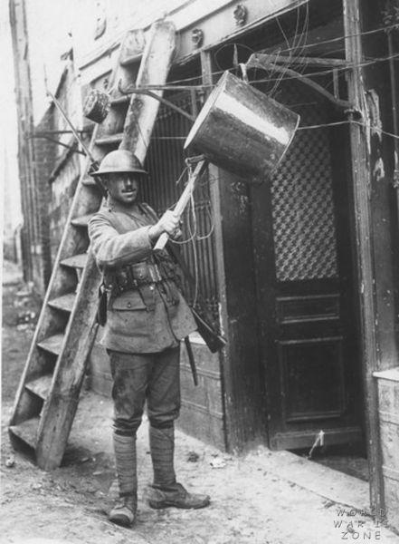 WWI Project gas alram kettle