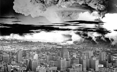 Atomic bomb city houston