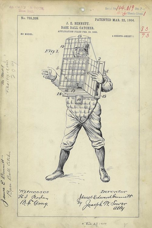 Patent catcher cage