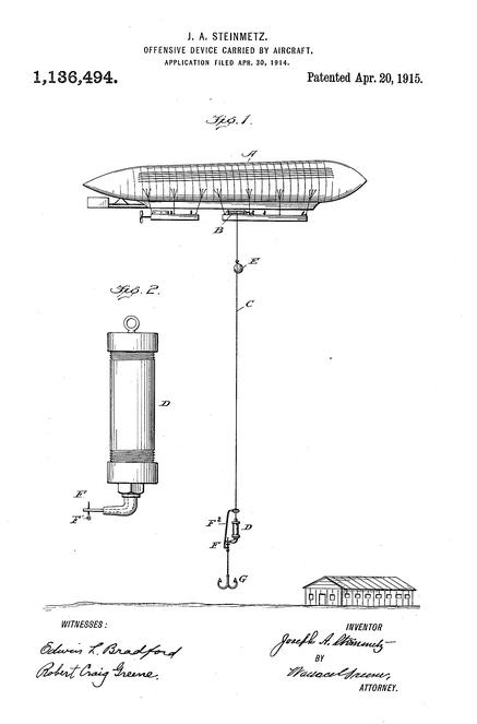 Patent Balloon gondola