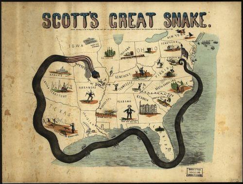 Maps Scotts great snake large
