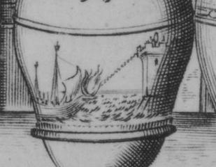 MAthematical Garden Archimedes mirror