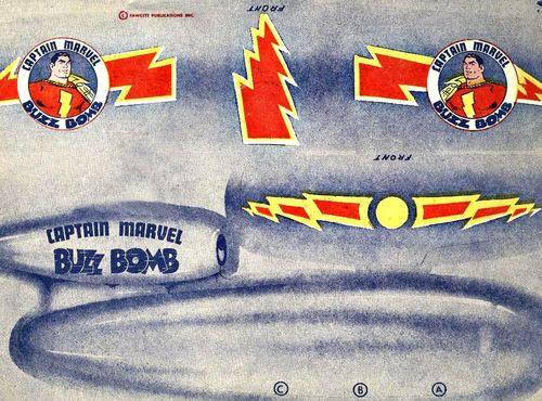 Buzz Bomb Capt MArvel