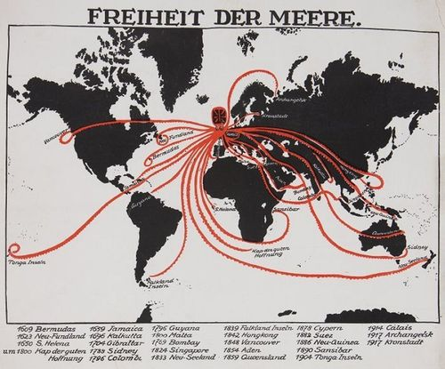Maps propaganda WWI 1918