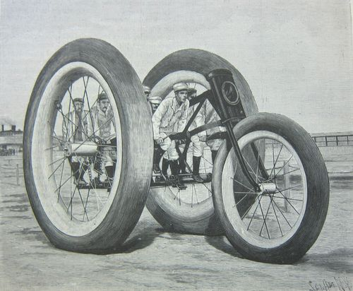 Scientific American giant trike 1896