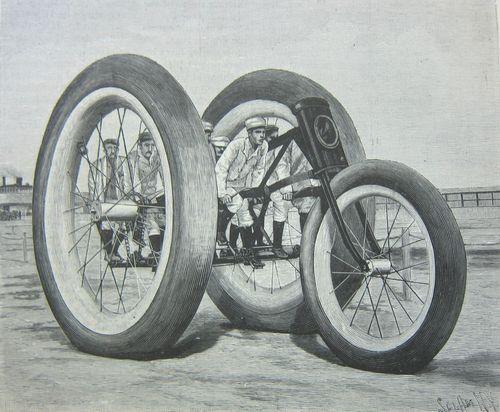 Scientific American giant trike 1896