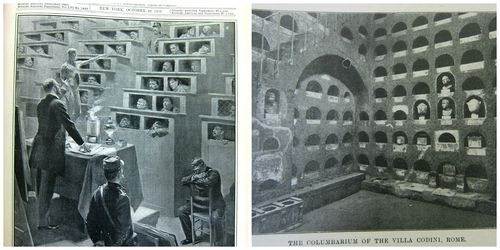 Columbarium collage